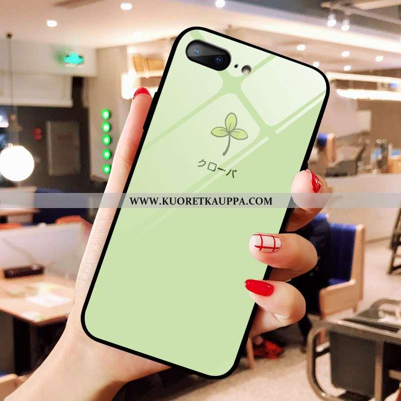 Kuori iPhone 8 Plus, Kuoret iPhone 8 Plus, Kotelo iPhone 8 Plus Lasi Sarjakuva Puhelimen Net Red Vih