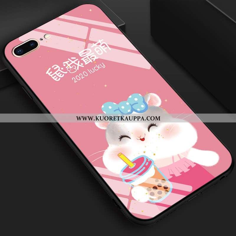 Kuori iPhone 8 Plus, Kuoret iPhone 8 Plus, Kotelo iPhone 8 Plus Luova Sarjakuva Net Red Murtumaton S