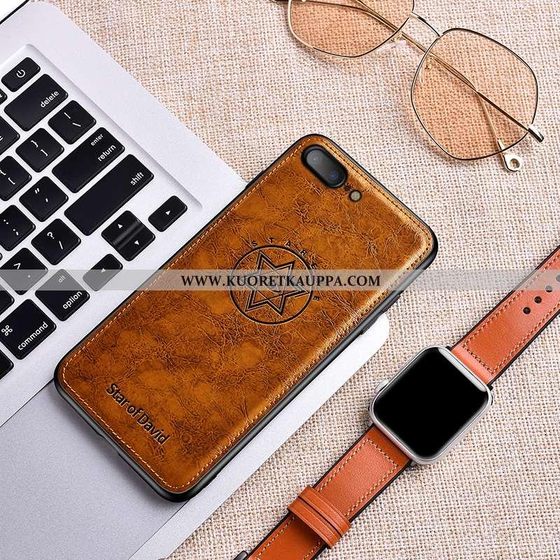 Kuori iPhone 8 Plus, Kuoret iPhone 8 Plus, Kotelo iPhone 8 Plus Nahka Kukkakuvio Ultra Pehmeä Neste