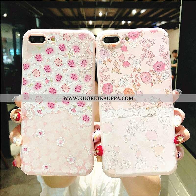 Kuori iPhone 8 Plus, Kuoret iPhone 8 Plus, Kotelo iPhone 8 Plus Ripustettavat Koristeet Kohokuvioint