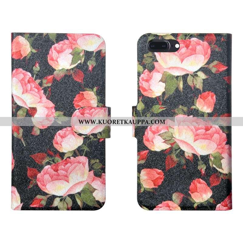 Kuori iPhone 8 Plus, Kuoret iPhone 8 Plus, Kotelo iPhone 8 Plus Silikoni Suojaus Jauhe Pehmeä Neste