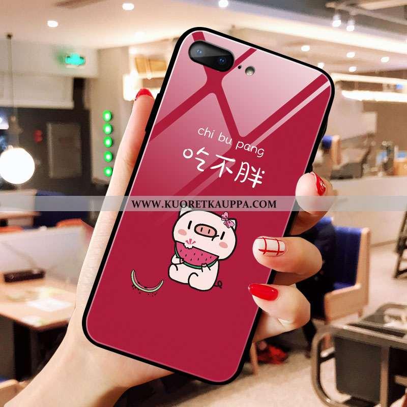 Kuori iPhone 8 Plus, Kuoret iPhone 8 Plus, Kotelo iPhone 8 Plus Ultra Lasi Sarjakuva Puhelimen Rakas