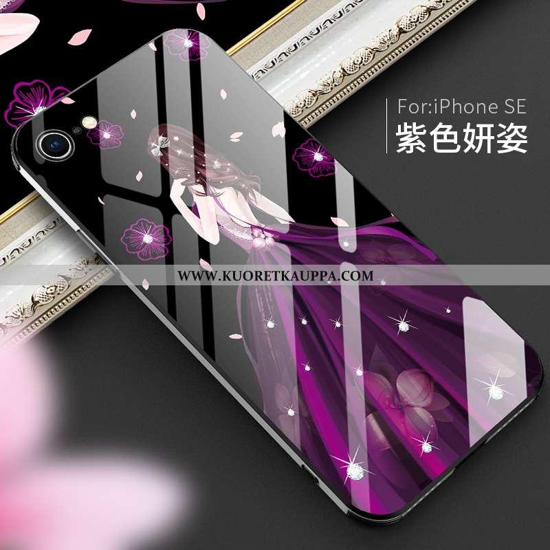 Kuori iPhone Se (nouveau, Kuoret iPhone Se (nouveau, Kotelo iPhone Se (nouveau) Ultra Valo Lasi Pers
