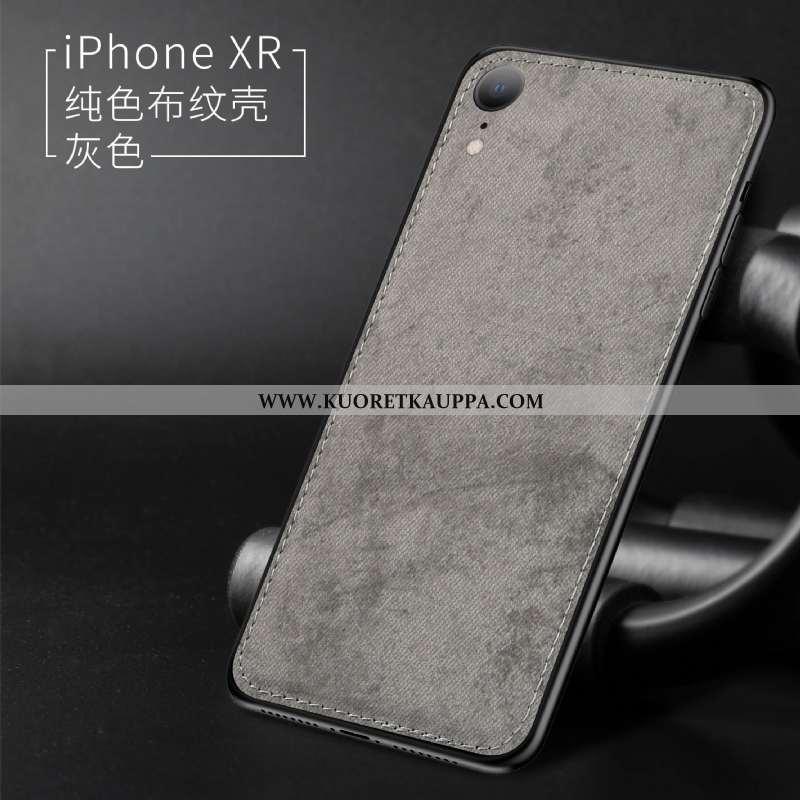Kuori iPhone Xr, Kuoret iPhone Xr, Kotelo iPhone Xr Silikoni Suojaus All Inclusive Pehmeä Neste Kukk