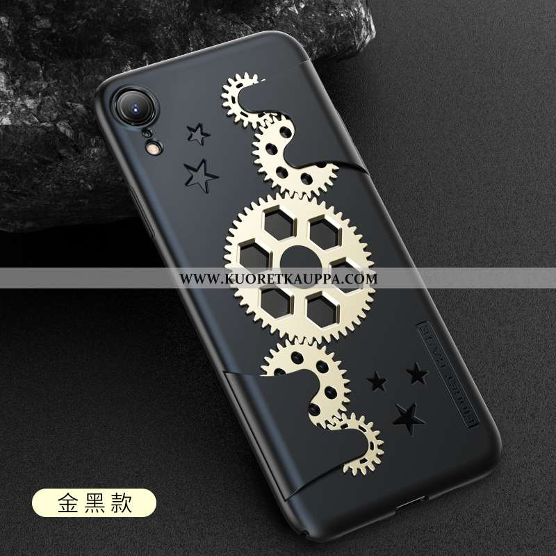 Kuori iPhone Xr, Kuoret iPhone Xr, Kotelo iPhone Xr Suuntaus Suojaus Kulta Murtumaton Kultainen