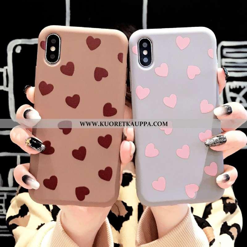 Kuori iPhone Xs, Kuoret iPhone Xs, Kotelo iPhone Xs Luova Suuntaus Uusi Rakastunut Yksinkertainen Si