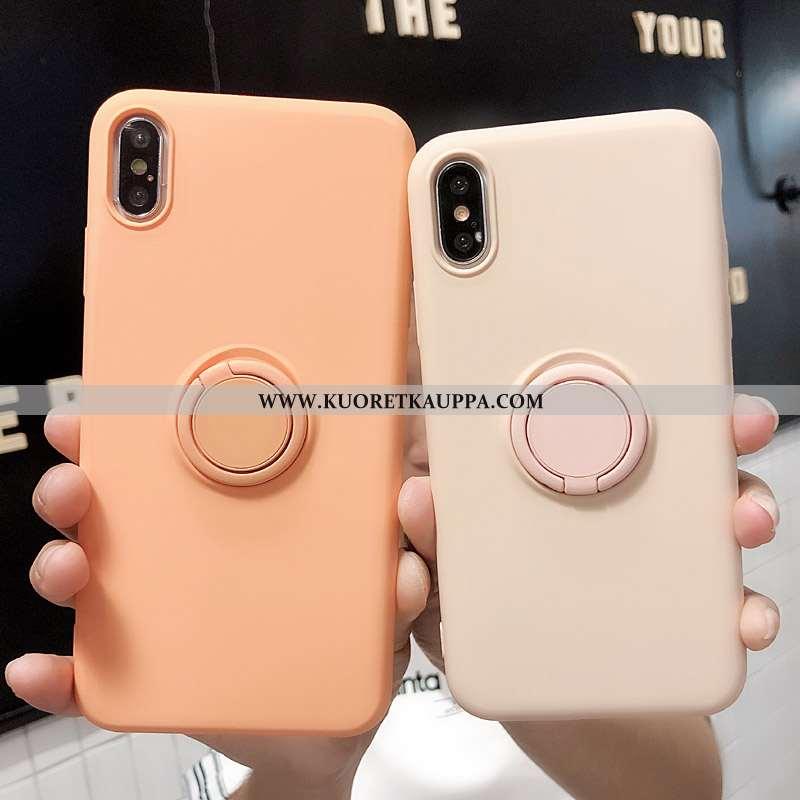 Kuori iPhone Xs, Kuoret iPhone Xs, Kotelo iPhone Xs Silikoni Luova Net Red Puhelimen Pinkki
