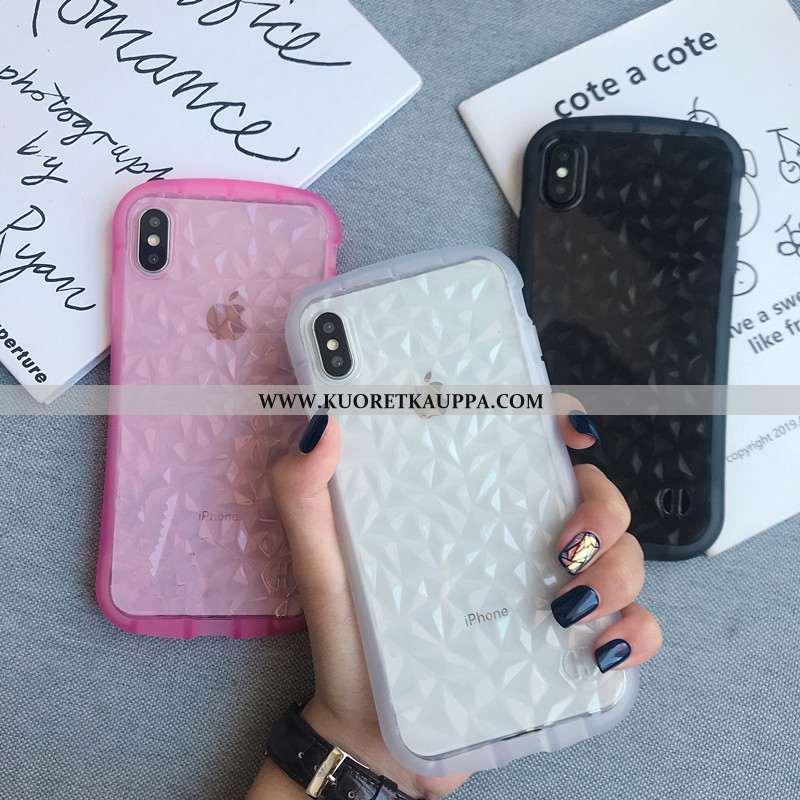 Kuori iPhone Xs, Kuoret iPhone Xs, Kotelo iPhone Xs Ylellisyys Persoonallisuus Valkoinen Puhelimen T
