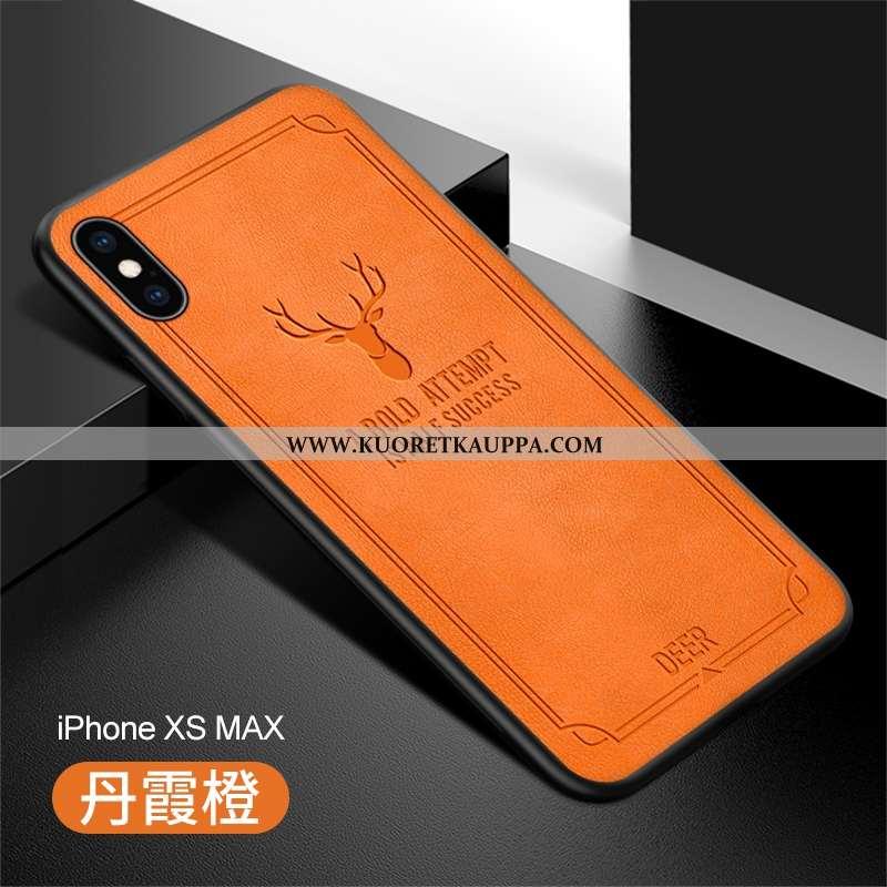 Kuori iPhone Xs Max, Kuoret iPhone Xs Max, Kotelo iPhone Xs Max Nahka Ultra Vihreä Murtumaton All In