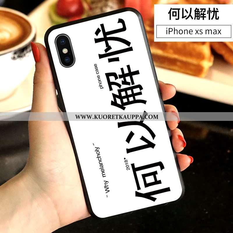 Kuori iPhone Xs Max, Kuoret iPhone Xs Max, Kotelo iPhone Xs Max Persoonallisuus Luova Murtumaton Val