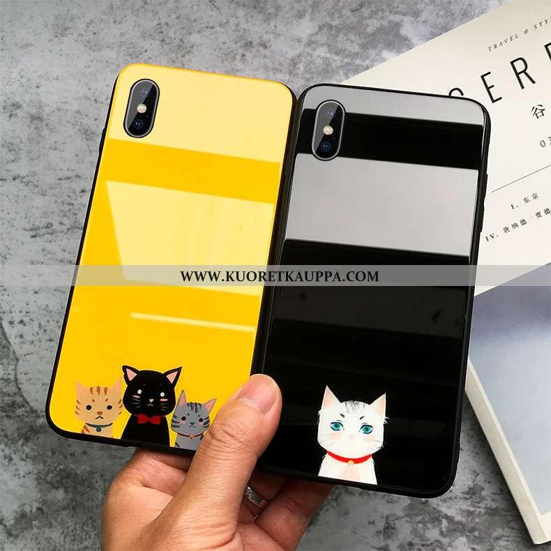 Kuori iPhone Xs Max, Kuoret iPhone Xs Max, Kotelo iPhone Xs Max Sarjakuva Ihana Keltainen Puhelimen