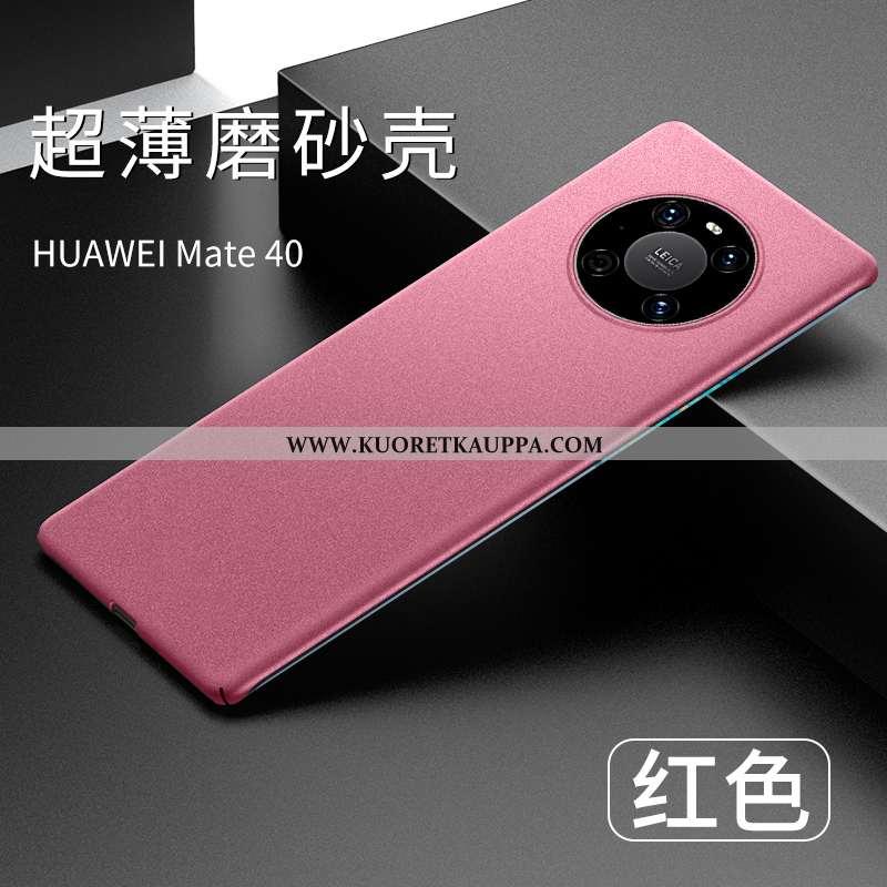Kuori Huawei Mate 40, Kuoret Huawei Mate 40, Kotelo Huawei Mate 40 Ultra Valo Pesty Suede Suojaus Pu