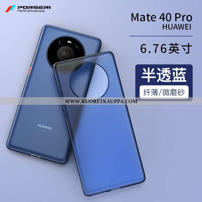 Kuori Huawei Mate 40 Pro, Kuoret Huawei Mate 40 Pro, Kotelo Huawei Mate 40 Pro Suojaus Pesty Suede U