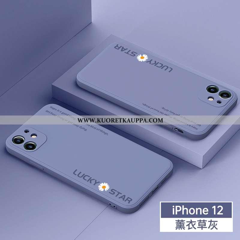 Kuori iPhone 12, Kuoret iPhone 12, Kotelo iPhone 12 Suojaus Persoonallisuus Sininen Puhelimen Pehmeä