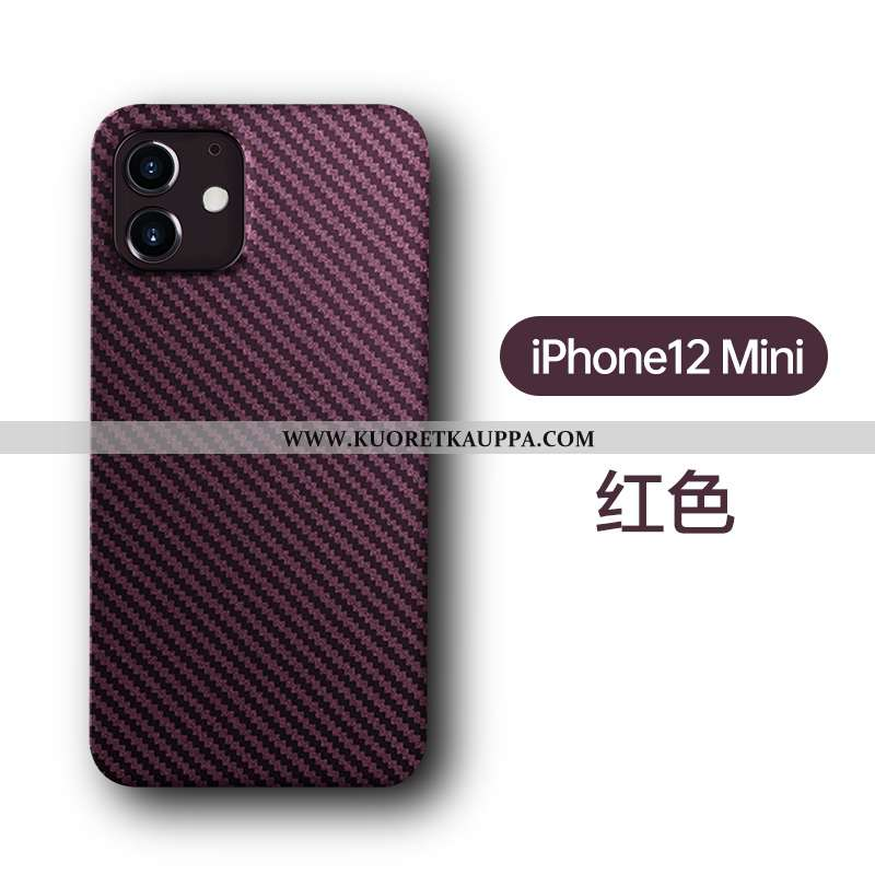 Kuori iPhone 12 Mini, Kuoret iPhone 12 Mini, Kotelo iPhone 12 Mini Pesty Suede Persoonallisuus Luova