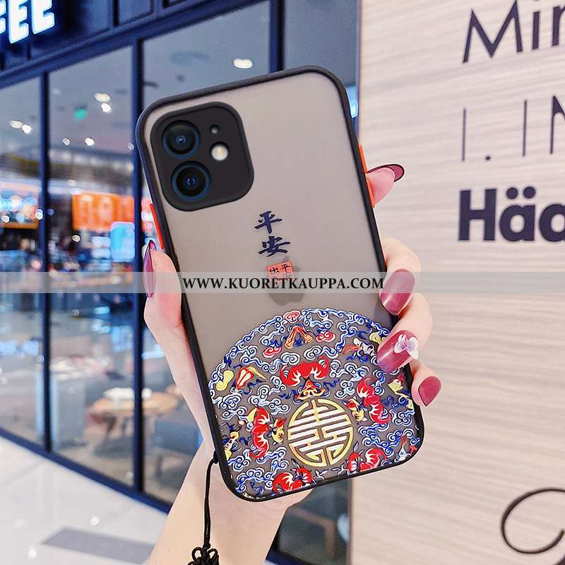 Kuori iPhone 12 Mini, Kuoret iPhone 12 Mini, Kotelo iPhone 12 Mini Silikoni Suojaus Luova Murtumaton