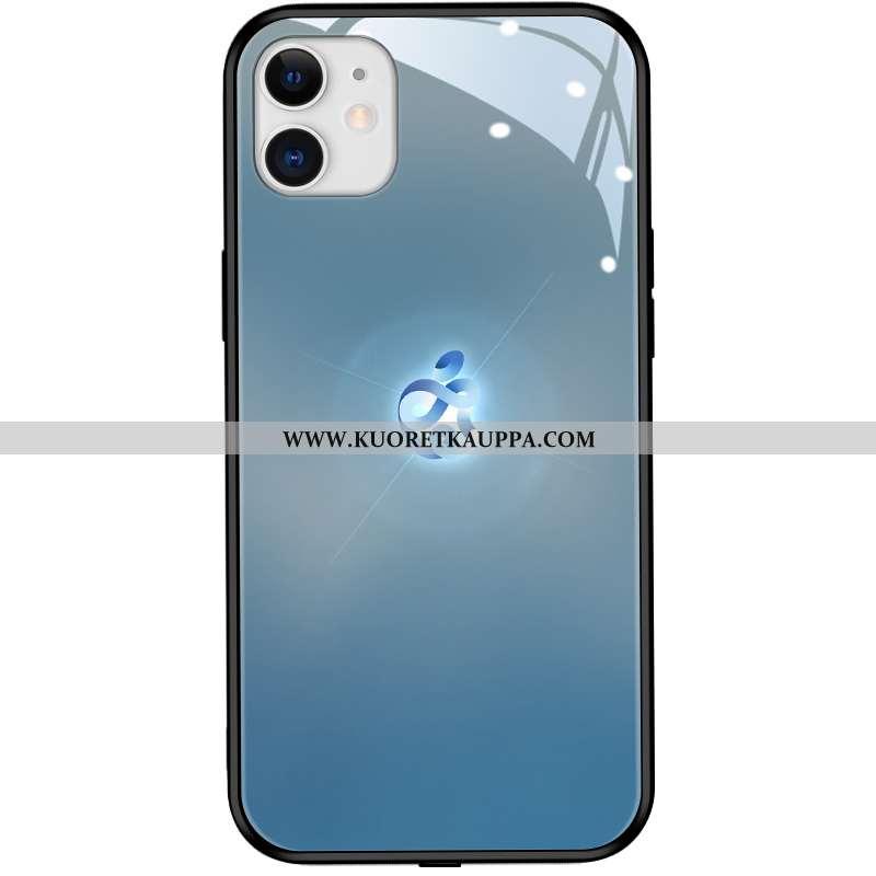 Kuori iPhone 12 Mini, Kuoret iPhone 12 Mini, Kotelo iPhone 12 Mini Suojaus Lasi Sininen Suuntaus