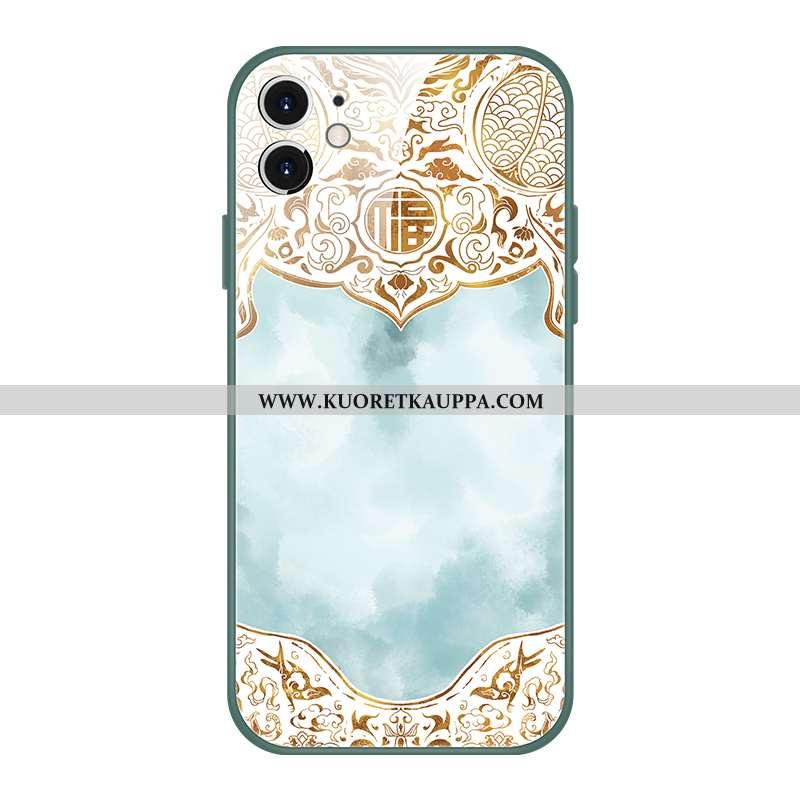 Kuori iPhone 12 Mini, Kuoret iPhone 12 Mini, Kotelo iPhone 12 Mini Suuntaus Lasi Puhelimen Sininen